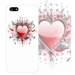 Coque DESIGN HEART pour Iphone 7