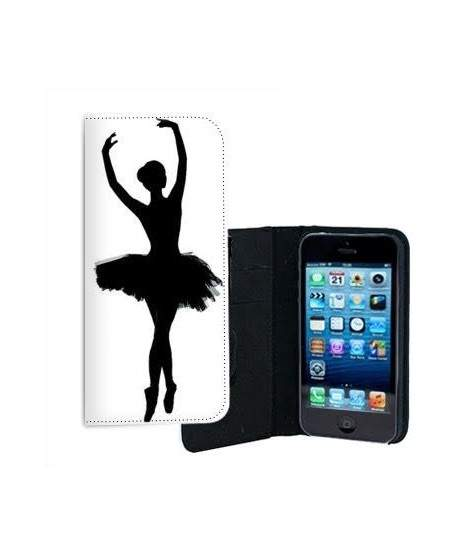 etui rabattable danseuse pour iphone 5 5s. Black Bedroom Furniture Sets. Home Design Ideas