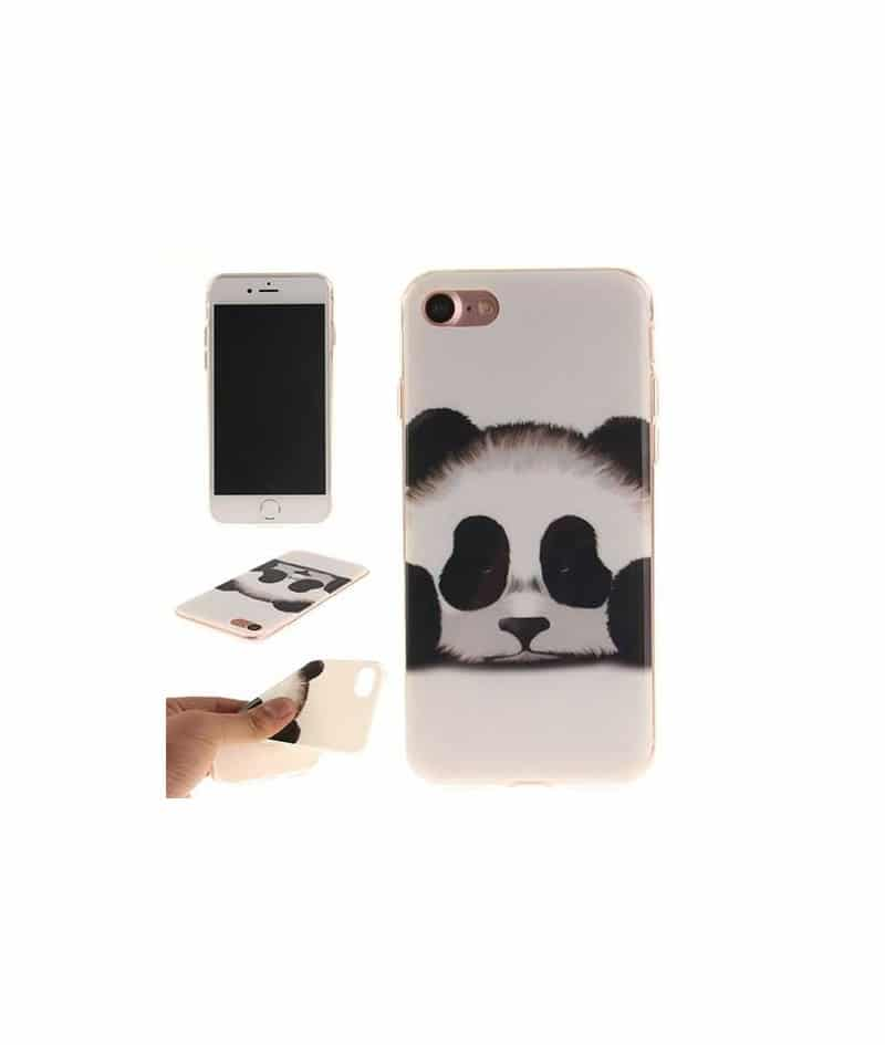 coque mini panda pour iphone 7. Black Bedroom Furniture Sets. Home Design Ideas