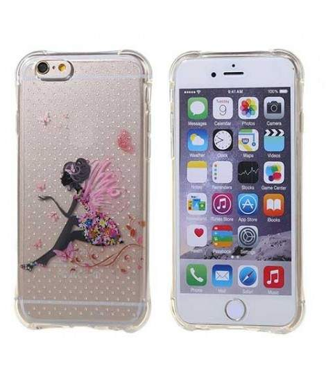 coque iphone 8 fee paillette