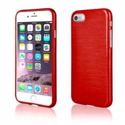 Coque effet METALLIC rouge pour iPhone 7