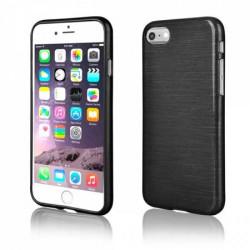 Coque effet METALLIC noire pour iPhone 7