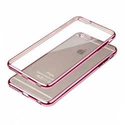 Coque CRYSTAL DELUXE ROSE souple pour iPhone 6+ et 6+S