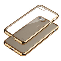 Coque CRYSTAL DELUXE OR souple pour iPhone 6+ et 6+S