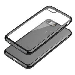 Coque CRYSTAL DELUXE noire souple pour iPhone 6+ et 6+S