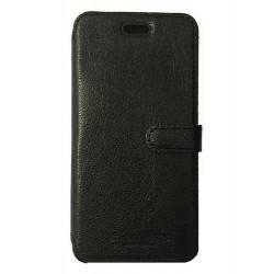 Etui portefeuille originale STARCLIPPERS en cuir noir pour iPhone 7