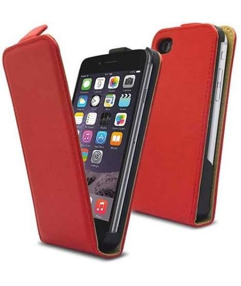 etui rabattable rouge pour iphone 6 et 6s. Black Bedroom Furniture Sets. Home Design Ideas