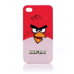 Coque ANGRY BIRDS rouge pour Iphone 4 et 4S