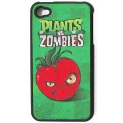 Coque PLANTS VS ZOMBIES rouge pour Iphone 4 et 4S