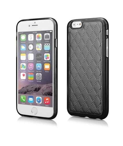 coque semi rigide skin noire pour iphone 6 et 6s