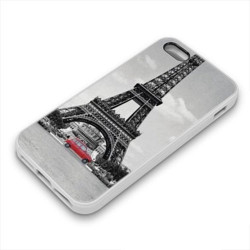 Coque Gel PARIS pour iPhone