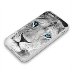Coque Gel BLUE LION pour iPhone