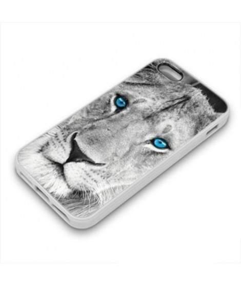 Coque Gel BLUE LION pour iPhone