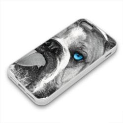 Coque Gel BLUE DOG pour iPhone