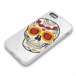 Coque Gel DEATH FLOWERS pour iPhone