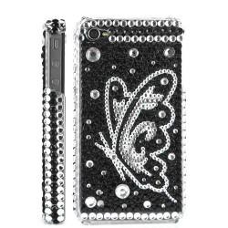 Coque Diamond Papillon noir pour Iphone 4 et 4s