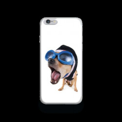 Coque Gel DRIVE DOG pour iPhone