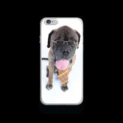 Coque Gel WORKING DOG pour iPhone