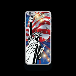 Coque Gel LIBERTY pour iPhone