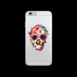 Coque Gel DEATH FLOWER pour iPhone