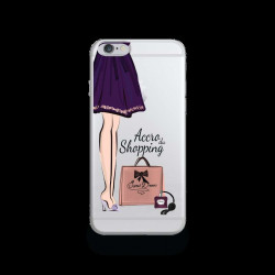 Coque Gel SHOPPING 1 pour iPhone