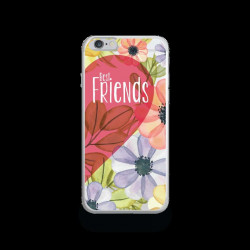 Coque Gel FRIENDS pour iPhone