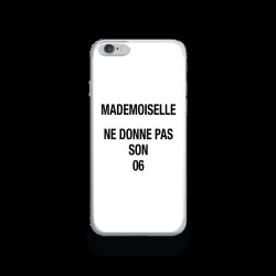 Coque Gel MADEMOISELLE 06 pour iPhone