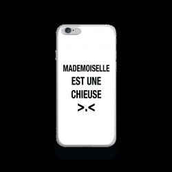 Coque Gel MADEMOISELLE CHIEUSE pour iPhone