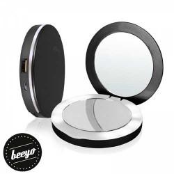 Batterie de secours Make-up Revolution 3000mAh + miroir rétro éclairé - Beeyo