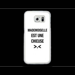 Coque Gel MADEMOISELLE CHIEUSE pour SAMSUNG