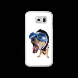 Coque Gel CRAZY DOG pour SAMSUNG