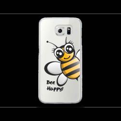 Coque Gel BEE HAPPY pour SAMSUNG