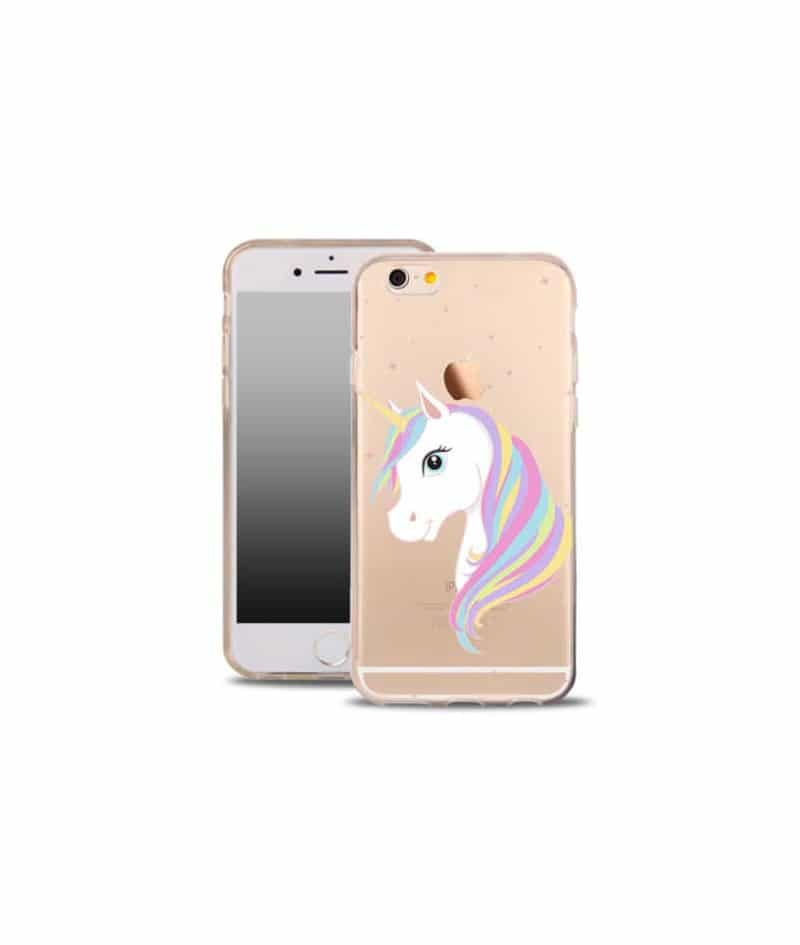 coque gel licorne pour iphone 5 5s et se. Black Bedroom Furniture Sets. Home Design Ideas