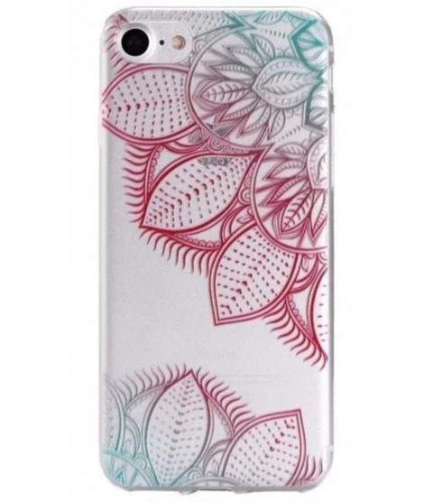 Coque GEL FLOWERS 2 pour iPhone 7