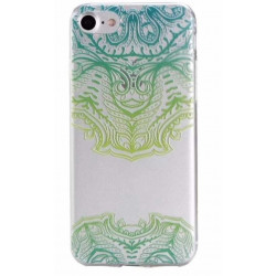 Coque GEL DENTELLES GREEN pour iPhone 7