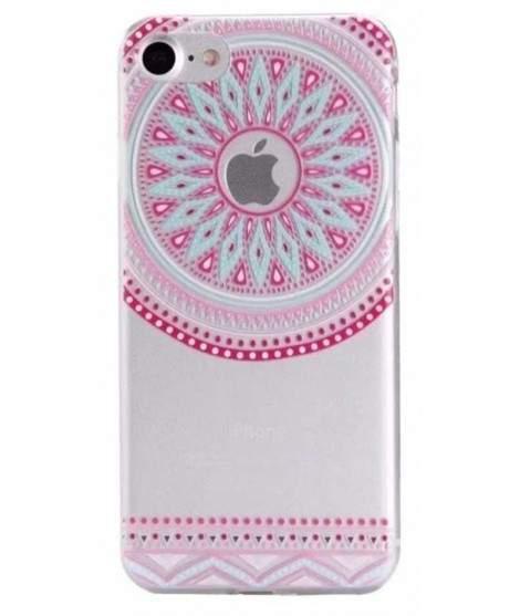 Coque GEL DENTELLES PINK pour iPhone 7
