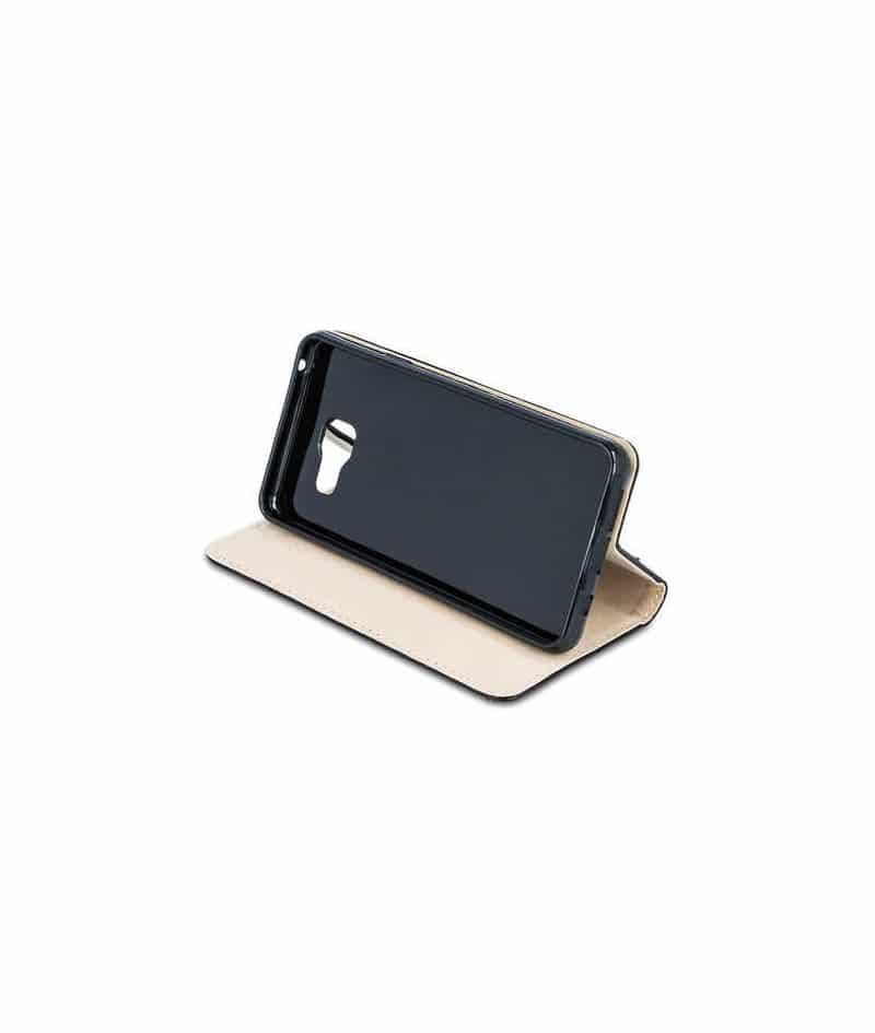 etui rabattable portefeuille magnetic noir pour samsung. Black Bedroom Furniture Sets. Home Design Ideas