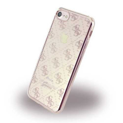 Coque souple GUESS GOLD ROSE pour iPhone 7