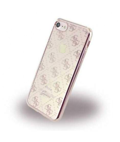 Coque rigide GUESS GOLD ROSE pour iPhone 7