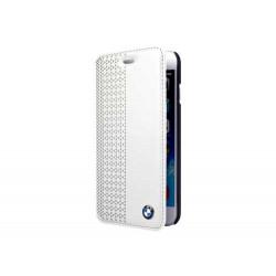 HOUSSE ETUI FOLIO BLANC BMW pour iPhone 6 et 6S