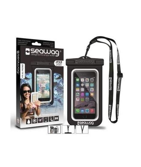 Pochette etanche SEAWAG noire et blanche pour smartphones