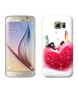 Coque coeur 4  pour Samsung Galaxy S8