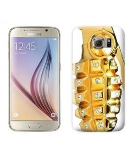 Coque Gold Grenade Samsung Galaxy S8
