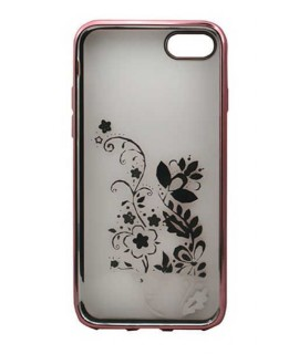 Coque GEL FLOWER pour iPhone 7