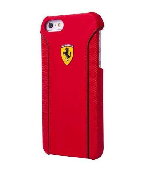 coque rabattable originale rouge ferrari pour iphone 6 plus. Black Bedroom Furniture Sets. Home Design Ideas