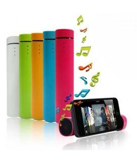 Batterie POWER JAM 3 en 1 noire edition music pour telephones et MP3
