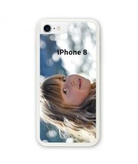 Coques souples PERSONNALISEES en Gel silicone pour iPhone 8