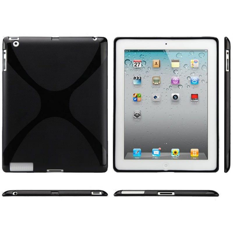 coque x noire pour ipad 2 et 3. Black Bedroom Furniture Sets. Home Design Ideas