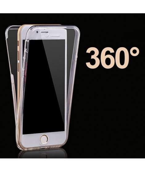 Coque CRYSTAL INTEGRALE 360 souple pour iPhone 8 +