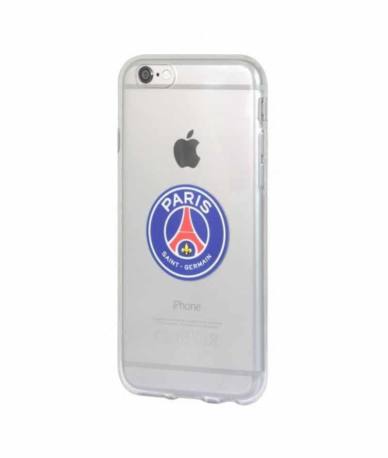 Coque gel officielle PSG pour iPhone 8